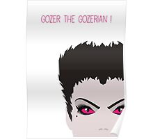 Ghostbusters Minimalist Series - Gozer Poster