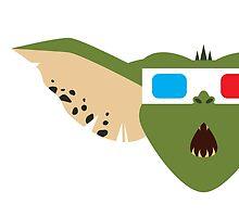 Gremlins Minimalist Series - Gremlin 3D by fabriqueposters
