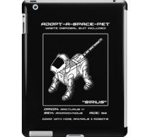 Adopt-A-Space-Pet iPad Case/Skin