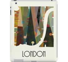 london city map abstract  iPad Case/Skin