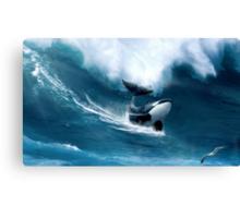 Killer Surf Canvas Print