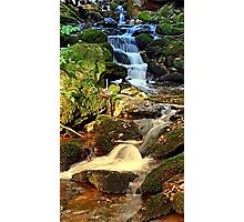 Mighty waterfall   landscape photography Photographic Print