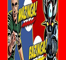 BAZINGA VS MAZINGA by margottina