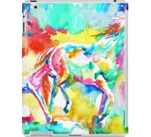 RUNNING HORSE and FOAL.2 iPad Case/Skin