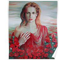 Red ocean Poster