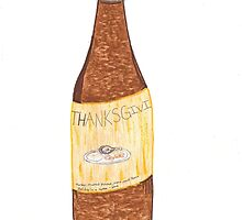 Thanksgiving In A Bottle by SteveHanna
