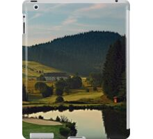 Summer morning at the golf club | landscape photography iPad Case/Skin