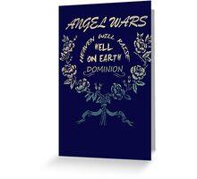 Angel Wars Greeting Card