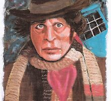Tom Baker - 4th Doctor Who by vandor63