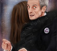 12th Doctor, not a hugging person by SanFernandez