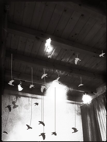 ceiling as sky by Nikolay Semyonov