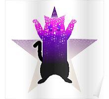Pixel Cat Poster