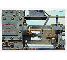Traction engine close up collection 4 Photographic Print