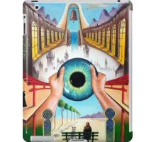 Behind empty eyes iPad Case/Skin