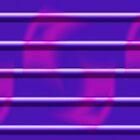 Purple Stripe Duvet by GolemAura