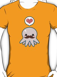 Cute Mustache Octopus T-Shirt