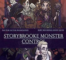 Storybrooke Monster Control by Jeh-Leh-Loh