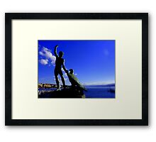 Zurich and Ganymede Framed Print