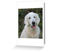 Ditte has such a sweet and lovely smile! Greeting Card