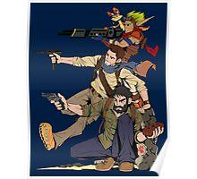 Naughty Dog - Drake, Joel, Jak Poster