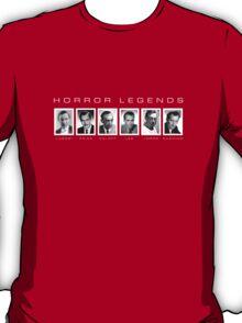 Legends of vintage horror T-Shirt