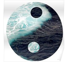 Yin Yang Oceans Poster