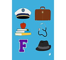 Catch Me If You Can Musical (large icons) Photographic Print