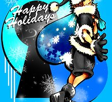 Happy Holidays! - Sora [KH] by Susanwolf