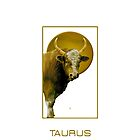 The Taurus Zodiac Emblem by Vy Solomatenko