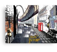 London to Ibiza Canvas Print