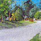 Just Around the Corner by Jim Phillips