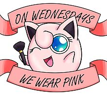 Pink Wednesdays Jigglypuff by ESkalecki
