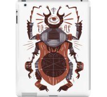 Eye of the Gods - Beetle Three - red iPad Case/Skin