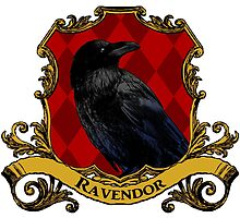 Ravendor House Crest by SedatedArtist