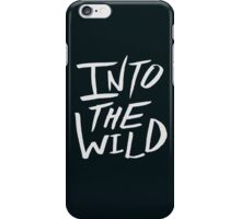 Into the Wild x BW iPhone Case/Skin