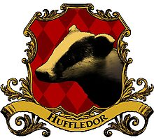 Huffledor House Crest by SedatedArtist