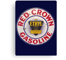 Red Crown Ethyl Gasoline Canvas Print