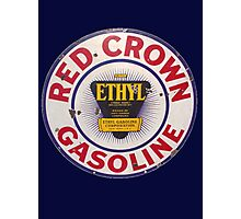 Red Crown Ethyl Gasoline Photographic Print