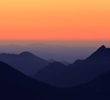 Sunset on Olympic National Park by DArthurBrown