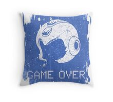 It's Game Over Mega Man, Game Over! Throw Pillow