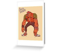Bebop Greeting Card