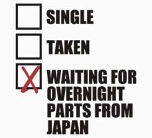 Single? Taken? Waiting for overnight parts from japan? by TswizzleEG