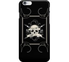 Bad 2 The Bones iPhone Case/Skin