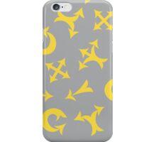 Yellow arrows iPhone Case/Skin