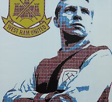 Bobby Moore by Gary Hogben