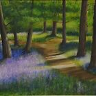 Walk through the Bluebells by Lynn Hughes