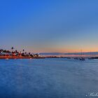 carnarvon foreshore by night by michelle robertson