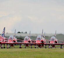Red Arrows Taxi by Mattyboy2154