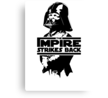 The IMPire Strikes Back Canvas Print