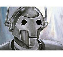 Dr Who Villains No.6 :Cyberman Photographic Print